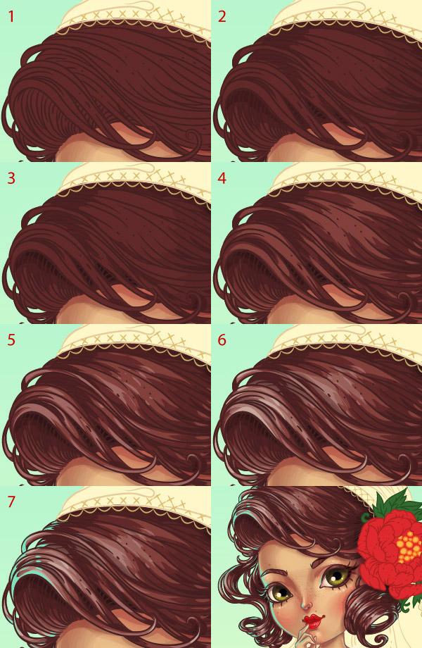 forming hairstyle