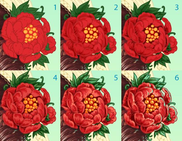 flower detaling