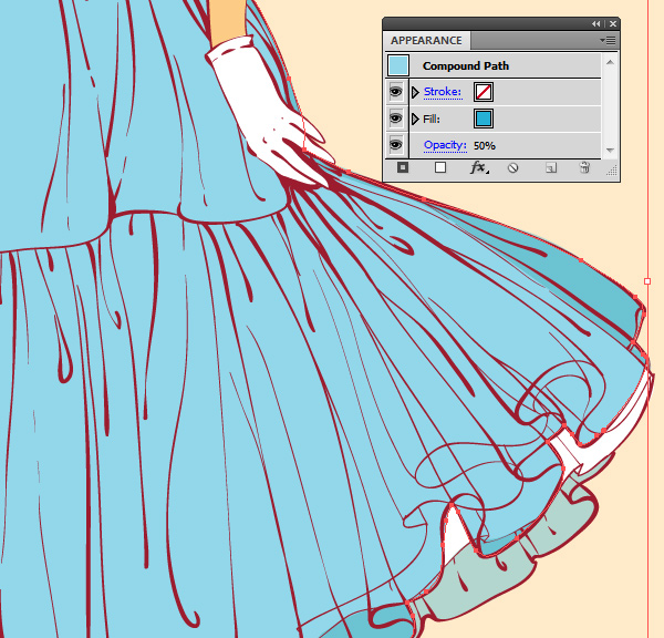skirt coloring