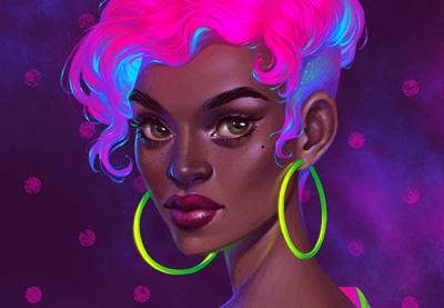 Prevew neon portrait