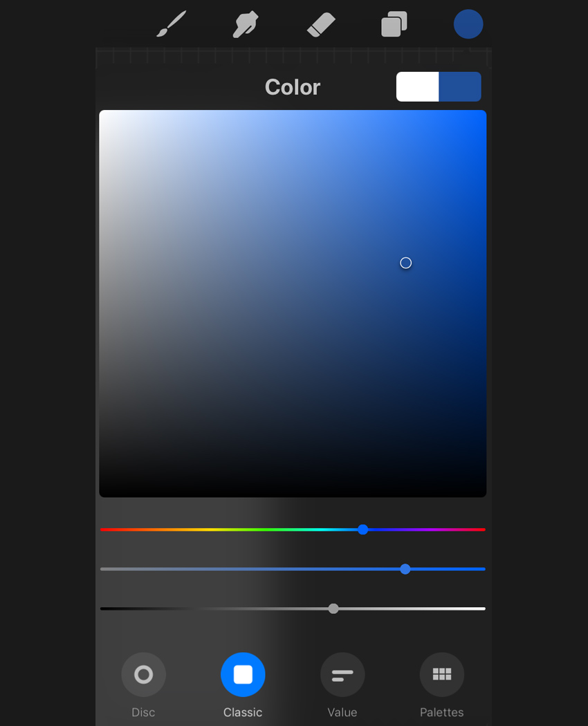 color menu