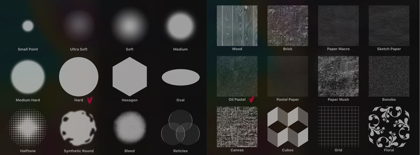 texture brush sources