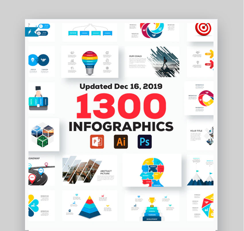 Multipurpose Infographics PowerPoint Templates v 46
