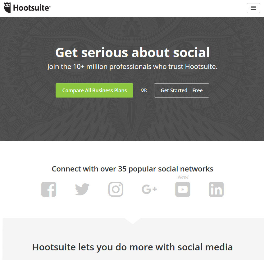 Hootsuite Social Media Management Productivity App