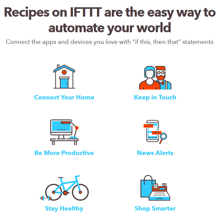 IFTTT Best Workflow Productivity App