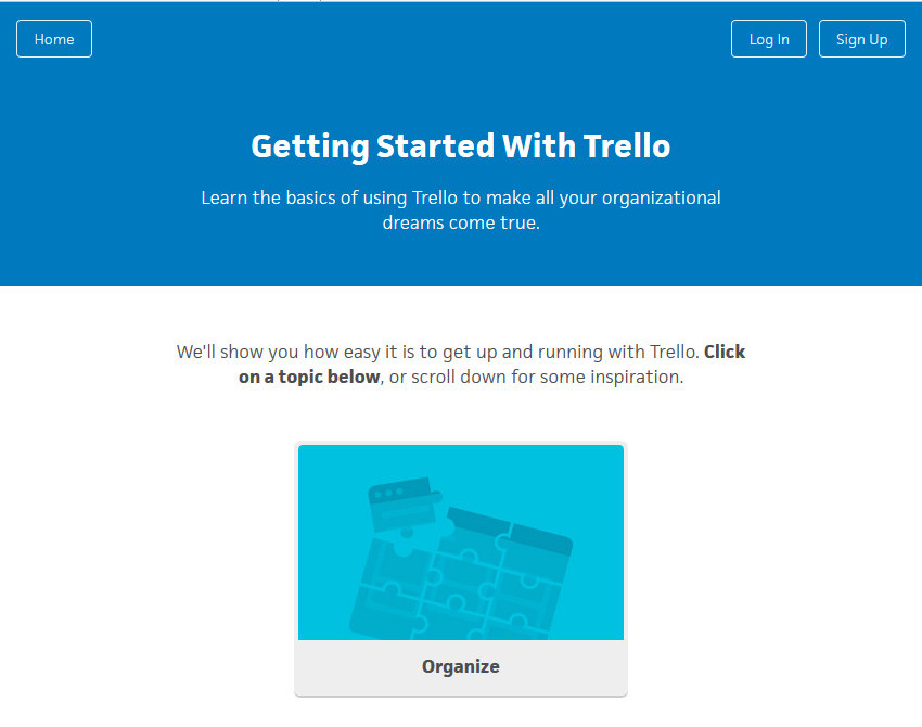 Trello Task Productivity App
