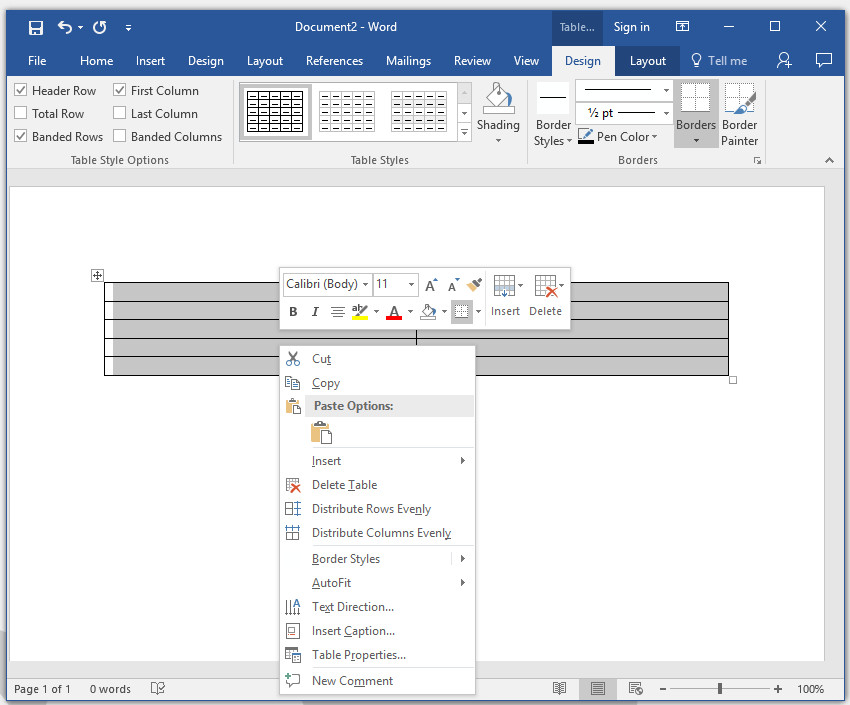 How to make your own business cards in word insert a table into microsoft word reheart Gallery