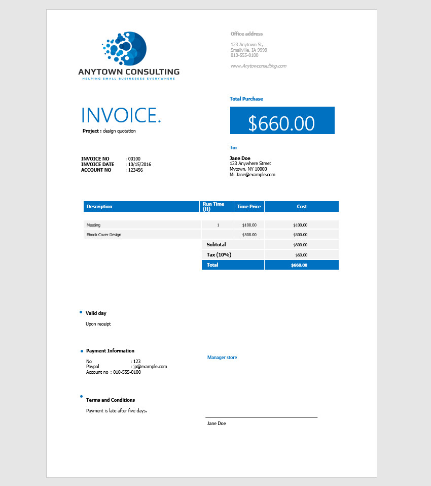 Ultrablogus  Ravishing How To Make An Invoice In Word From A Professional Template With Gorgeous Final Customized Ms Word Invoice Design With Amusing Warehouse Receipt Also Receipts By Wave In Addition Property Tax Receipt And National Rental Car Receipt As Well As Home Depot Return No Receipt Additionally Sams Club Receipt From Businesstutspluscom With Ultrablogus  Gorgeous How To Make An Invoice In Word From A Professional Template With Amusing Final Customized Ms Word Invoice Design And Ravishing Warehouse Receipt Also Receipts By Wave In Addition Property Tax Receipt From Businesstutspluscom