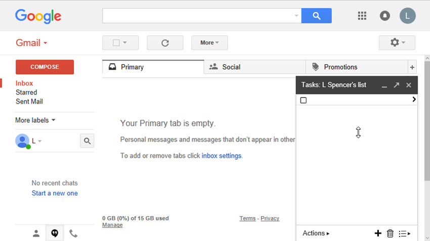how to work with tasks in gmail to be more productive