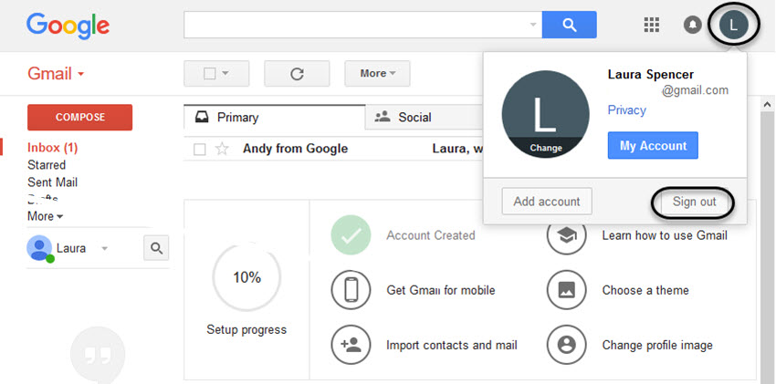 how to open a new gmail account