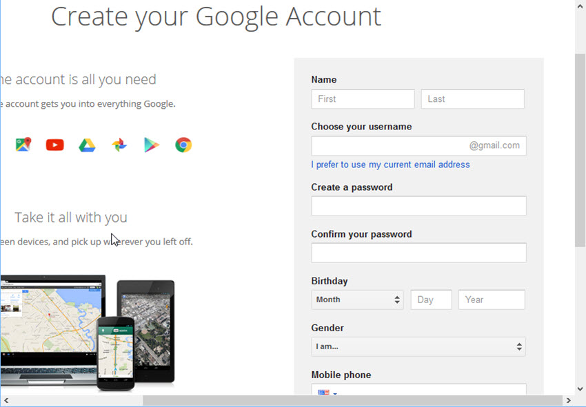How To Create A New Gmail Account Quick Start Guide