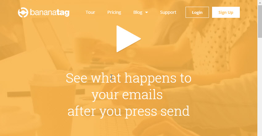 Bananatag Gmail Plugin for Email Tracking