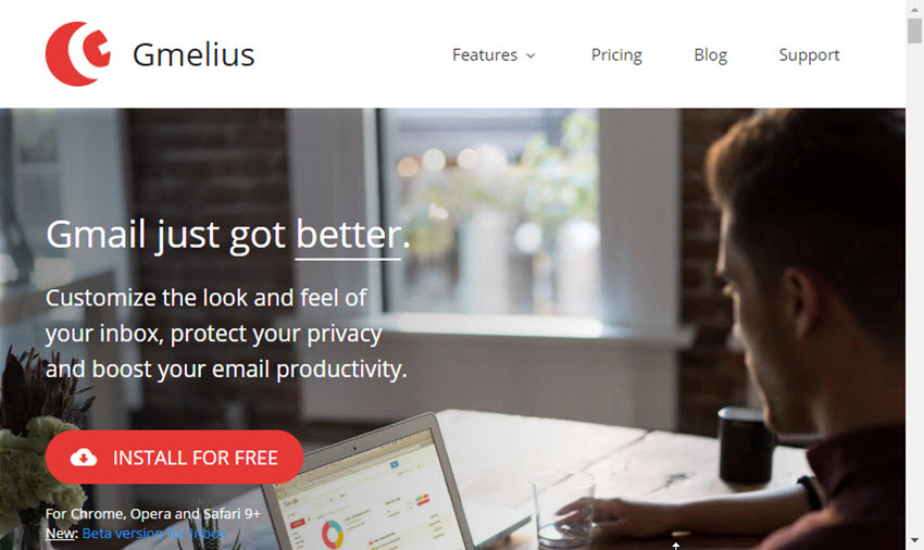 Gmelius Chrome Gmail security plugin