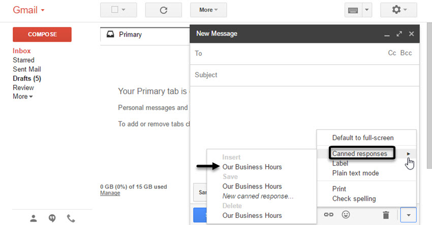How to Create Email Templates in Gmail: With Canned Responses