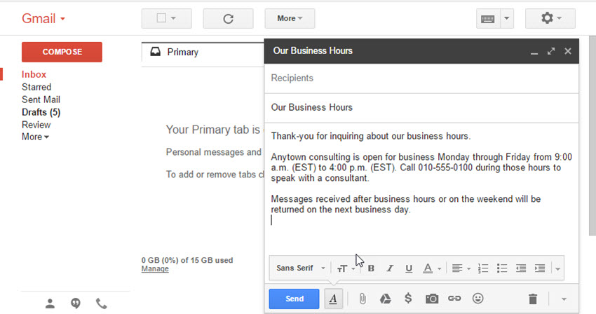 How To Create Email Templates In Gmail With Canned Responses