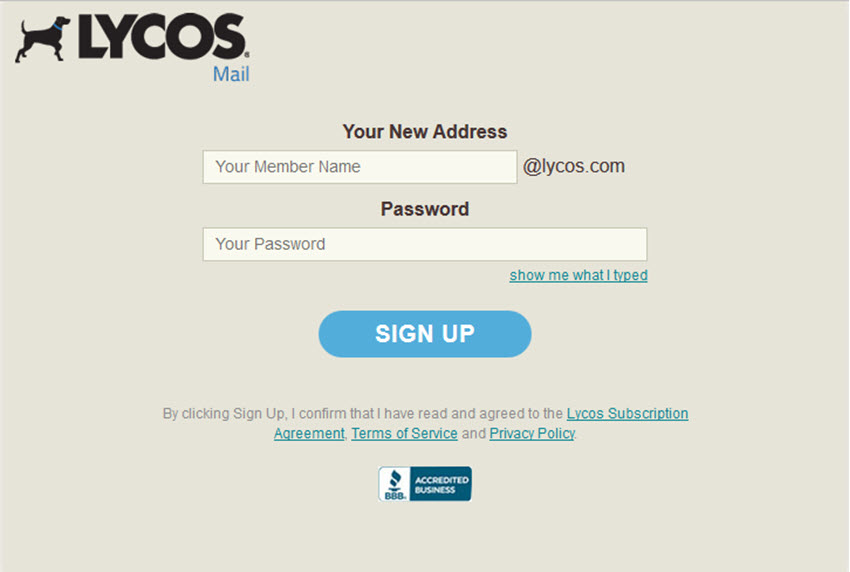 Lycoscom sign up