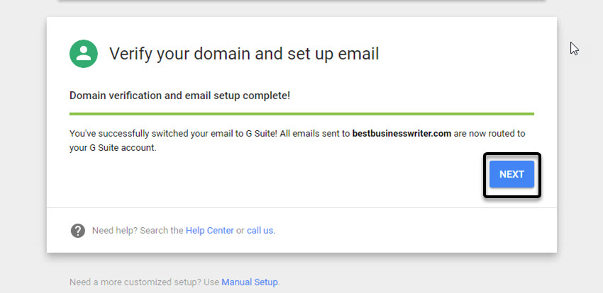 how to create business email with gmail