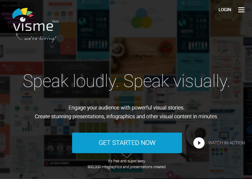 Professional Presentation Software - Visme
