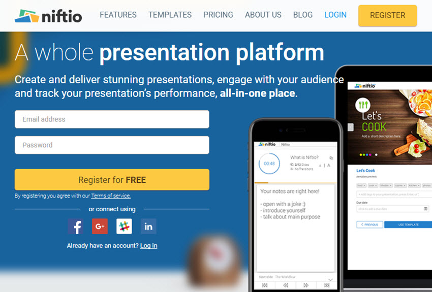 Professional Presentation Software - Niftio