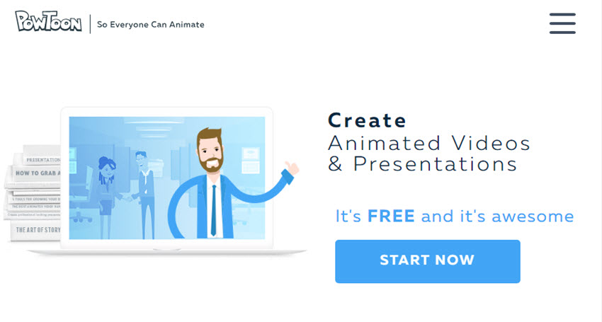 Professional Presentation Software - PowToon