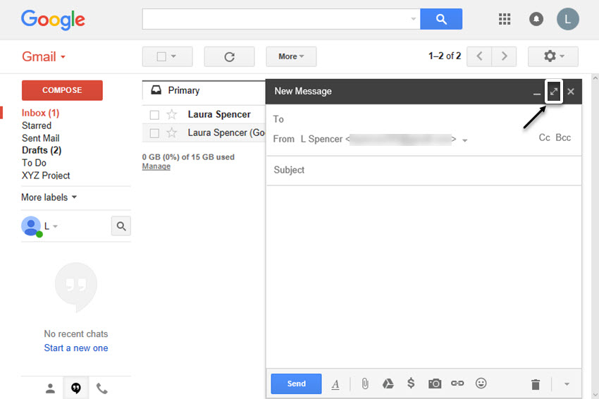 Gmail tutorials--sending your first email