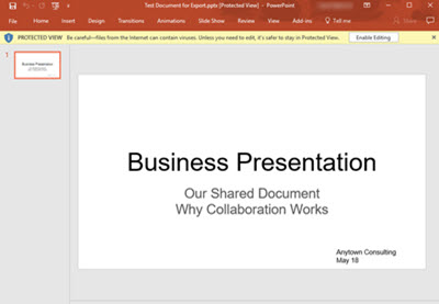 How to Create a Professional Google Slideshow Presentation