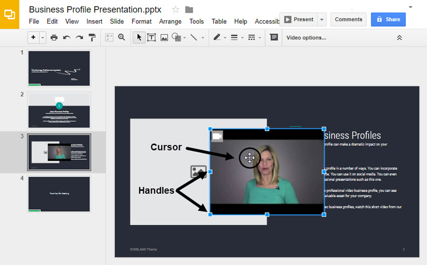 how to add voiceover to google slides
