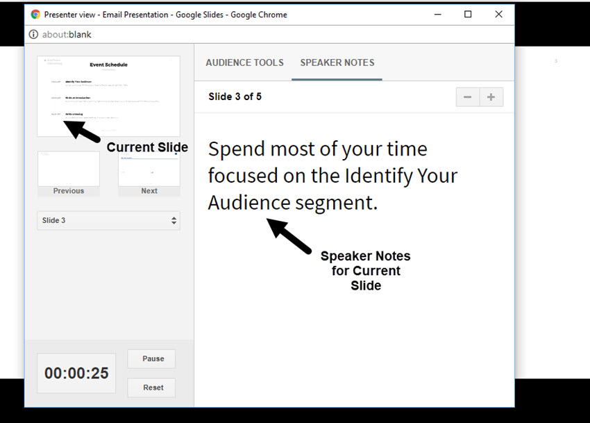 How to Present Your Google Slides Slideshow Presentation