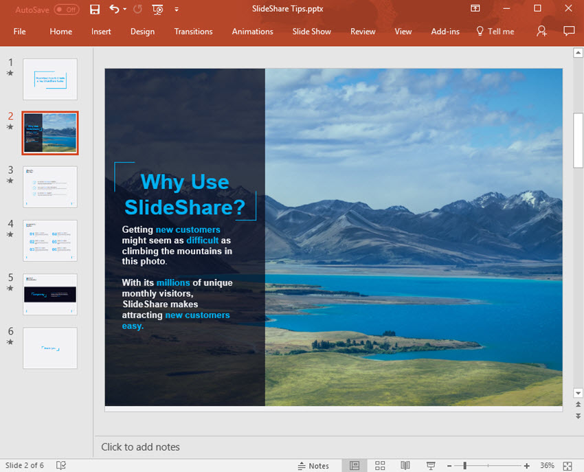 PowerPoint Slide with Image