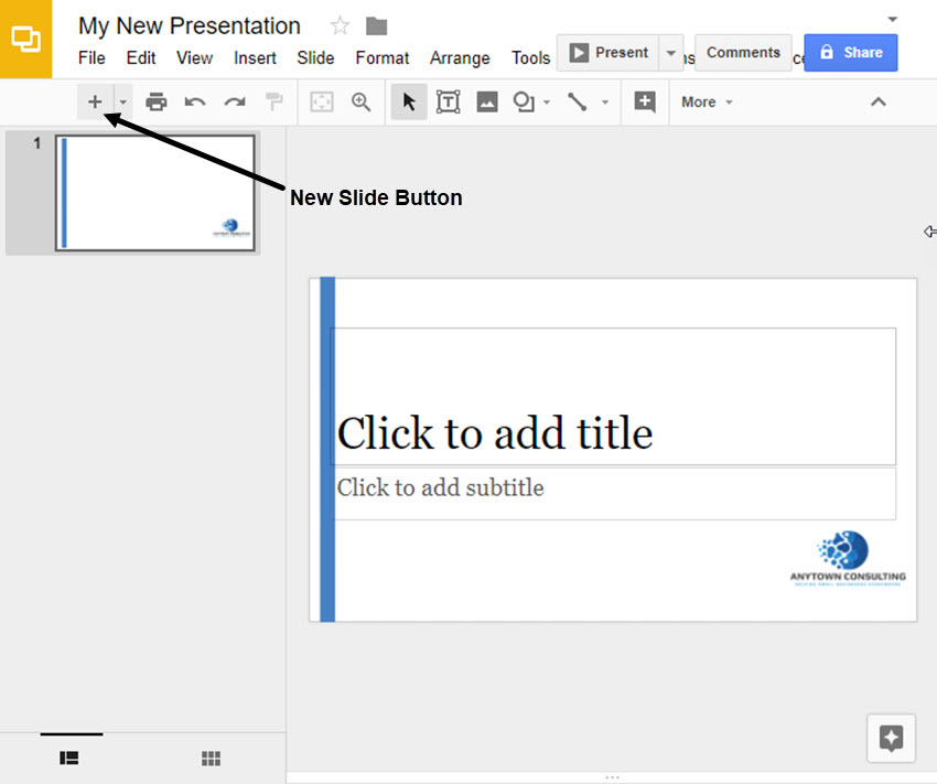 how to make your own google slides presentation template