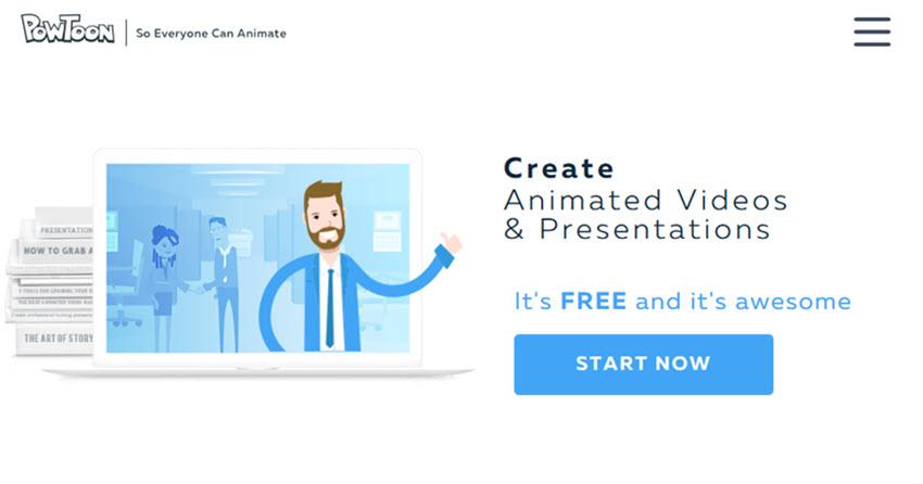 PowToon presentation software