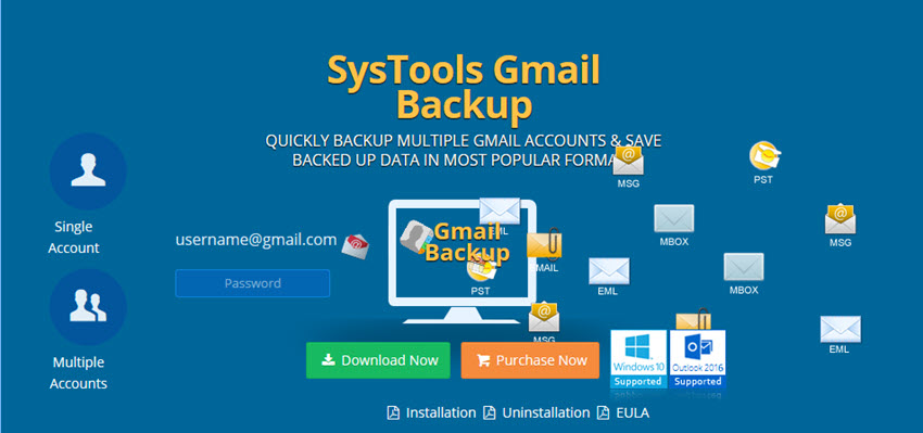 SysTools Gmail Backup