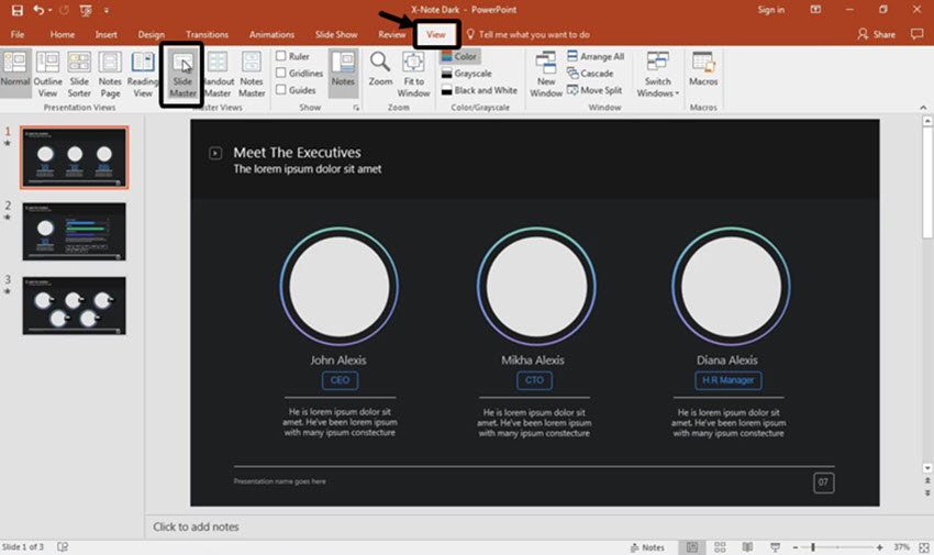 How to Put a Logo on Every PowerPoint Slide in 60 Seconds