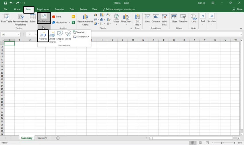 Insert image into Excel cell