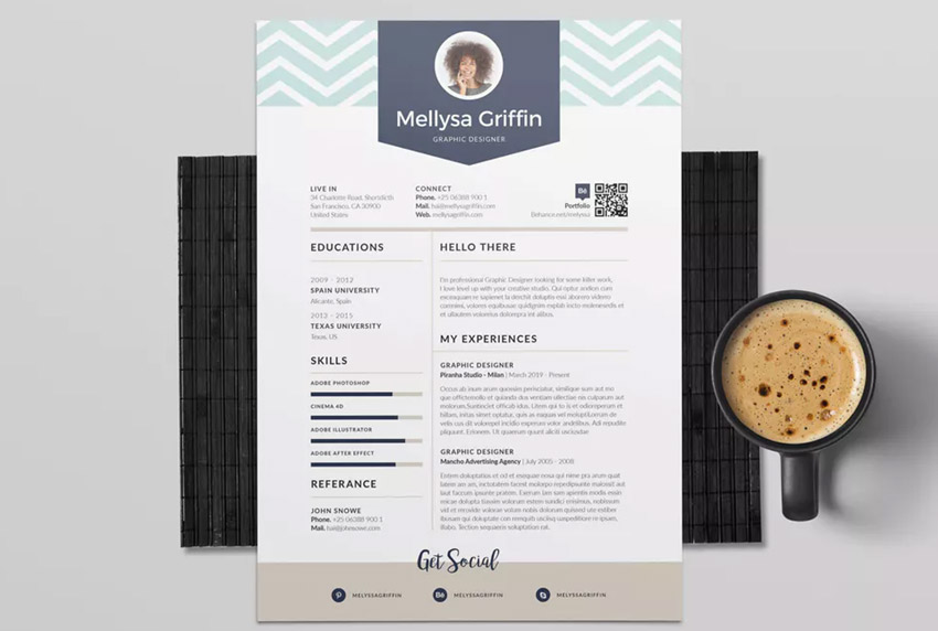 Light Modern Resume