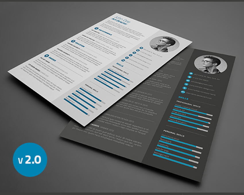18 professional business resume templates for 2018 3 piece resume with cover letter wajeb