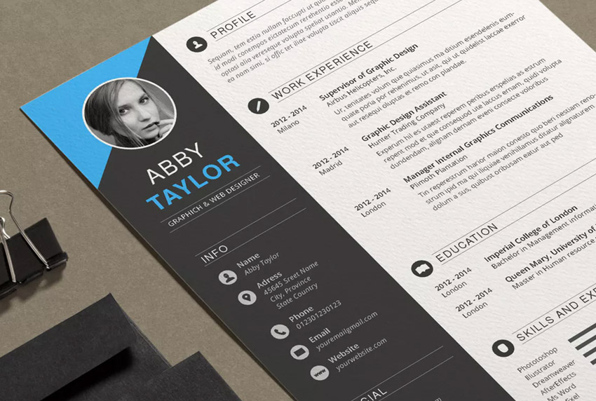 Resume Abby