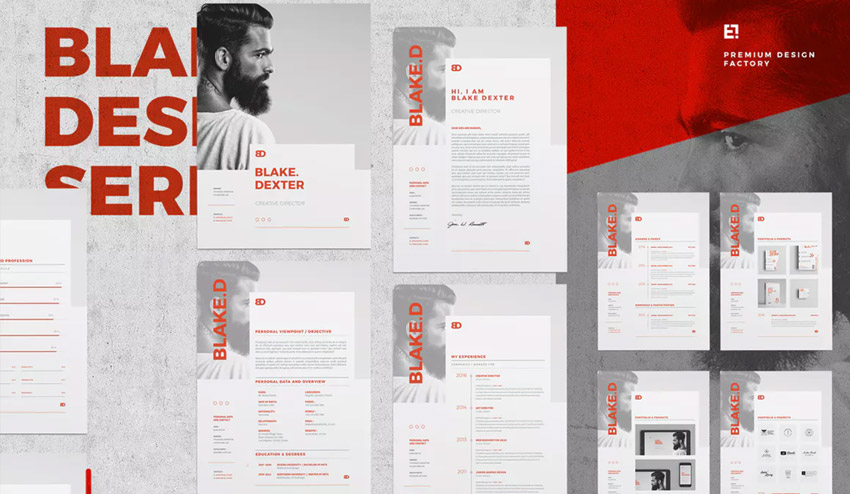 Creative Resume by Egotype