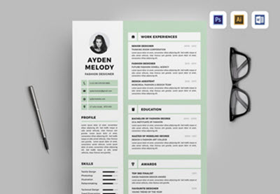 15 Free Google Docs Microsoft Word Resume Templates 2019