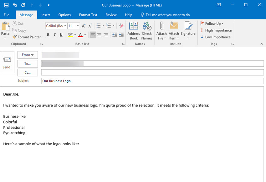 How to Compose & Send New Emails With Microsoft Outlook