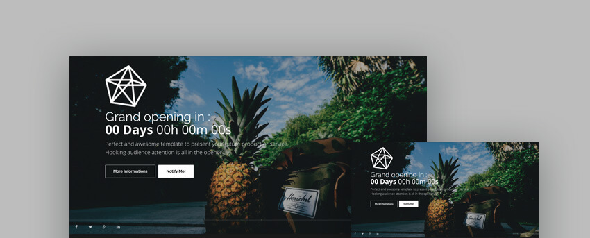 Opal Landing Page Template