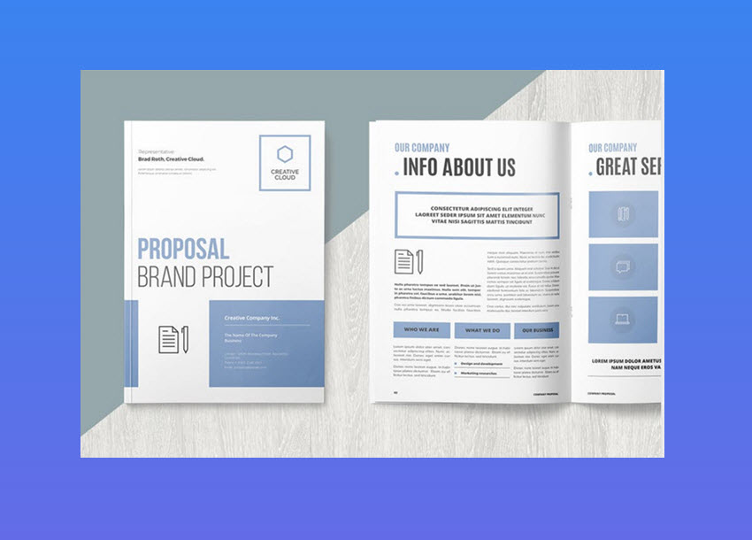 Professional Business Project Proposal Templates For
