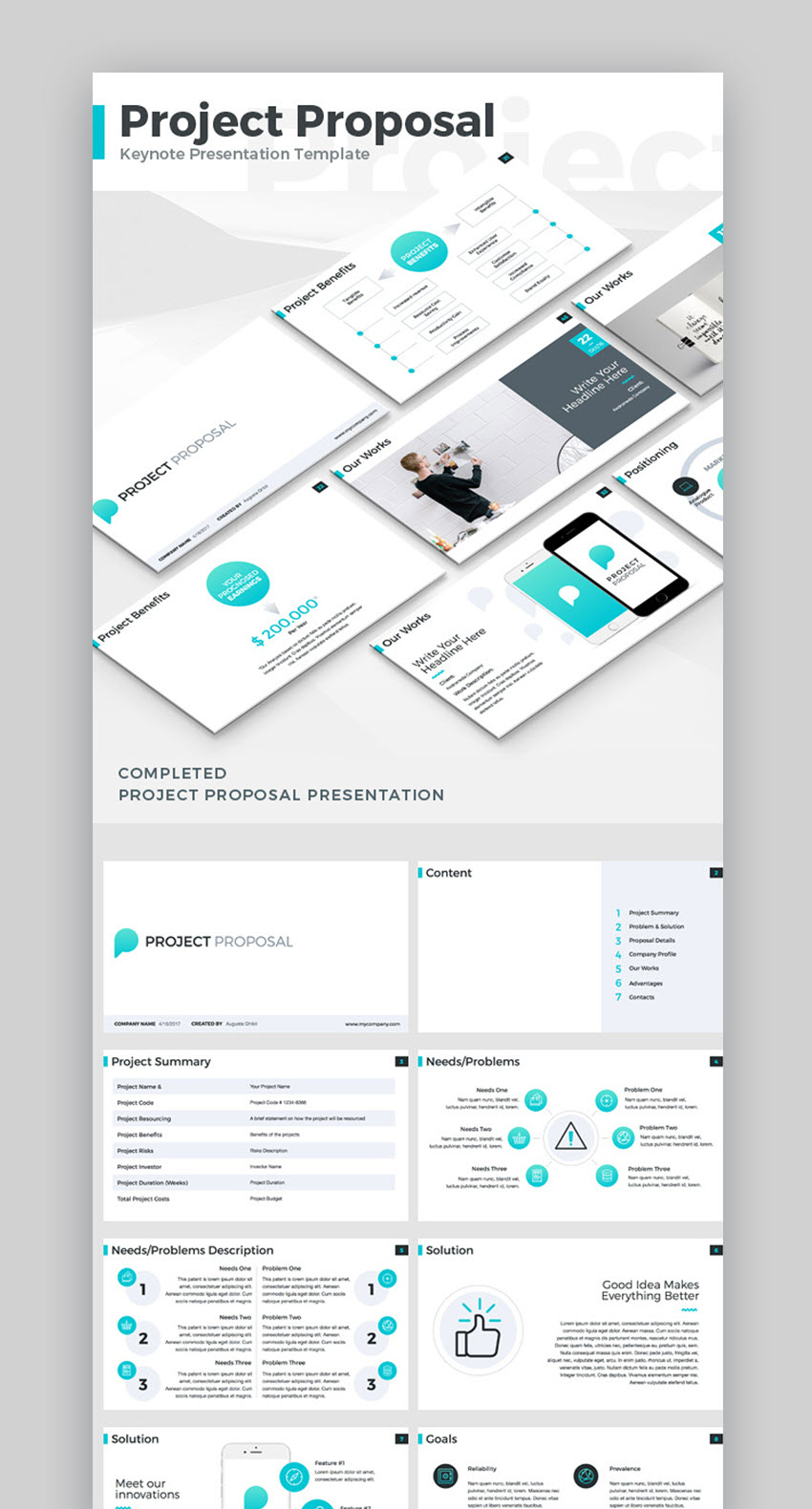 Detailed Proposal Template  Proposals Templates