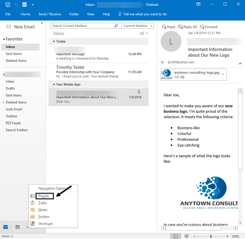 how to clean up contacts in outlook.com