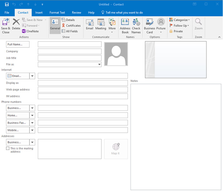 How to Organize Your Outlook Contacts