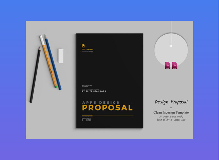 20 Top Graphic Design Branding Project Proposal Templates