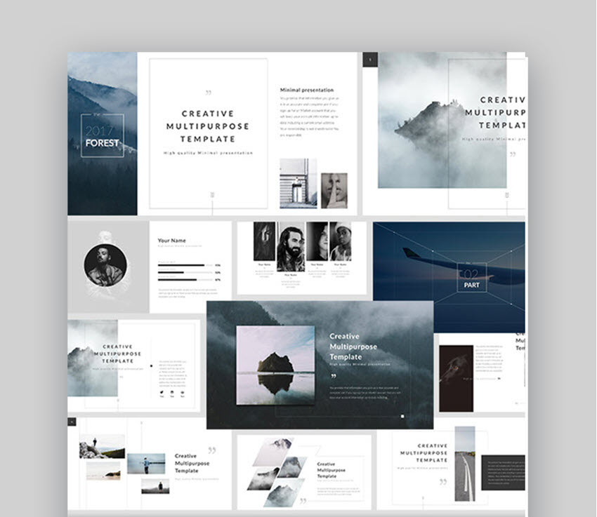 35 Cool Powerpoint Templates To Make Presentations In 2019