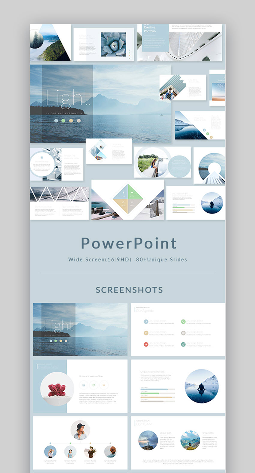 Light PowerPoint Presentation