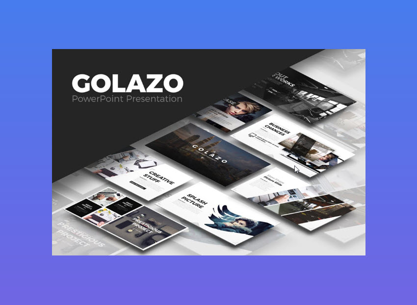 Golazo Cool PowerPoint Presentation Template