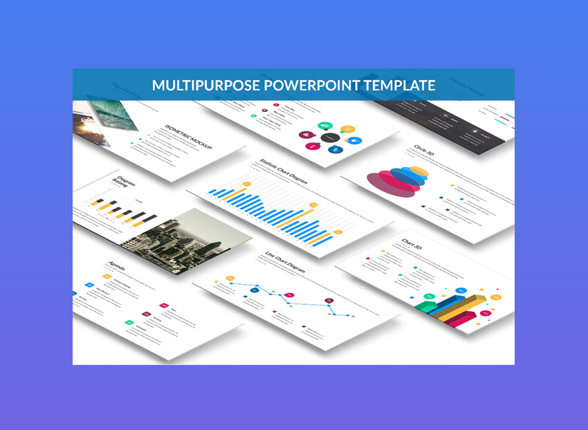 Omega - Really Cool PowerPoint Template